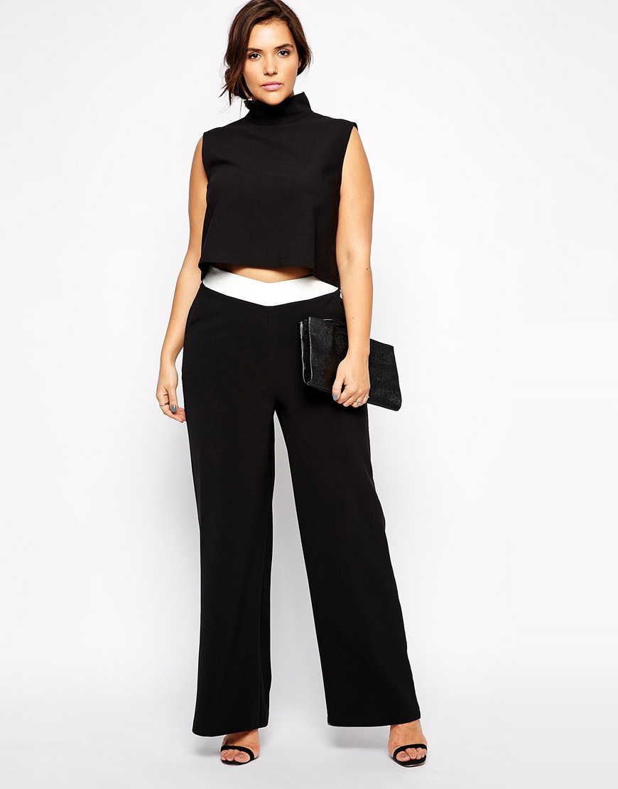 Wide Leg Pants Plus Size