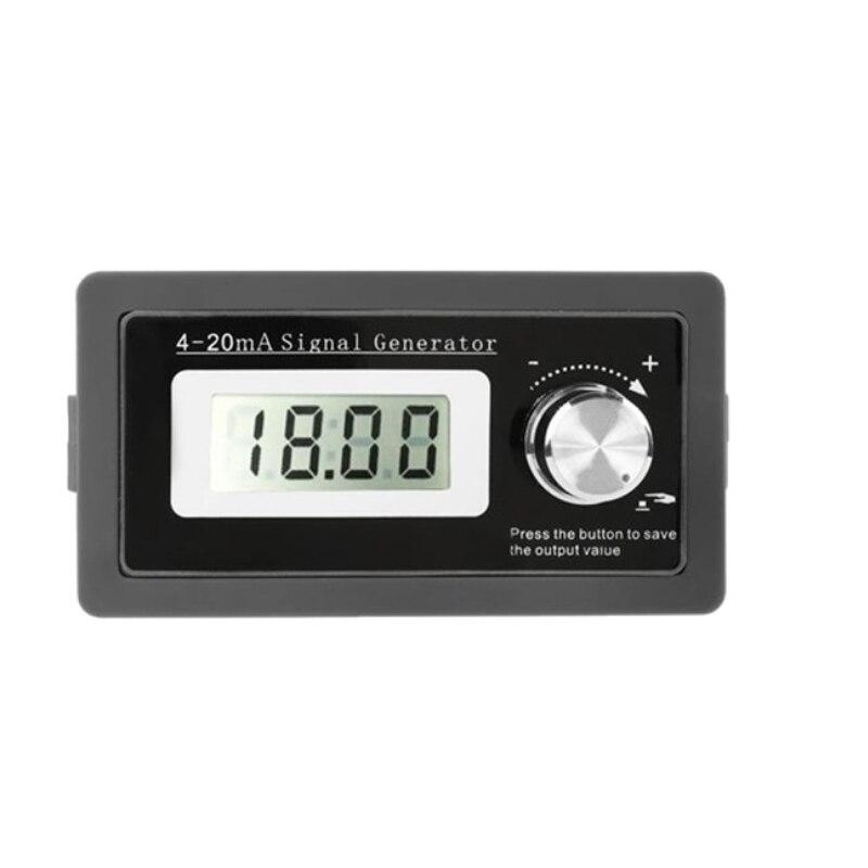 4-20мА генератор сигналов преобразователь тока тестер нагрузки инструмент ПЛК LCD два провода выход