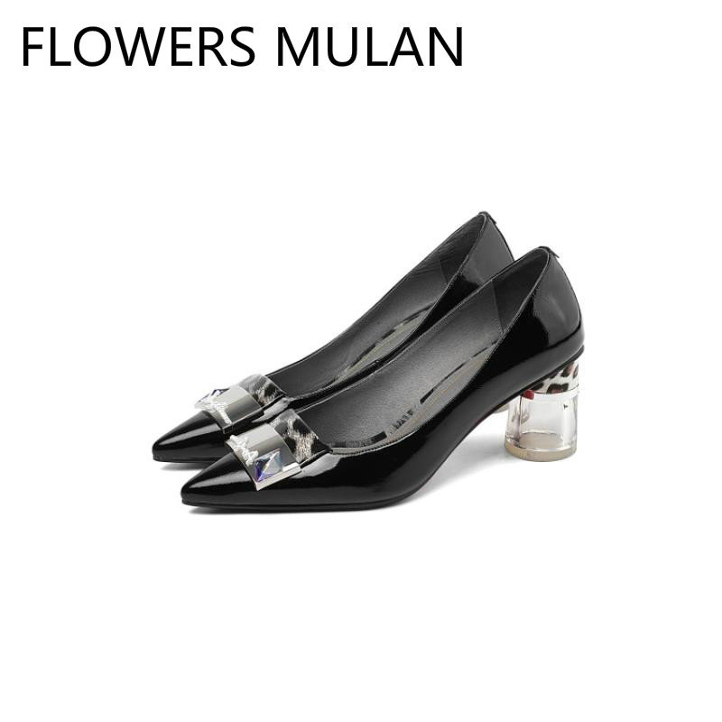 Schuhe Weiß Gladiatoren Leder Auf Stiletto blau High Schwarz Flachen weiß Blau Frauen Schwarzes Heels Klar Spitz Runde Weiblichen Slip Shiny P0nAx5w