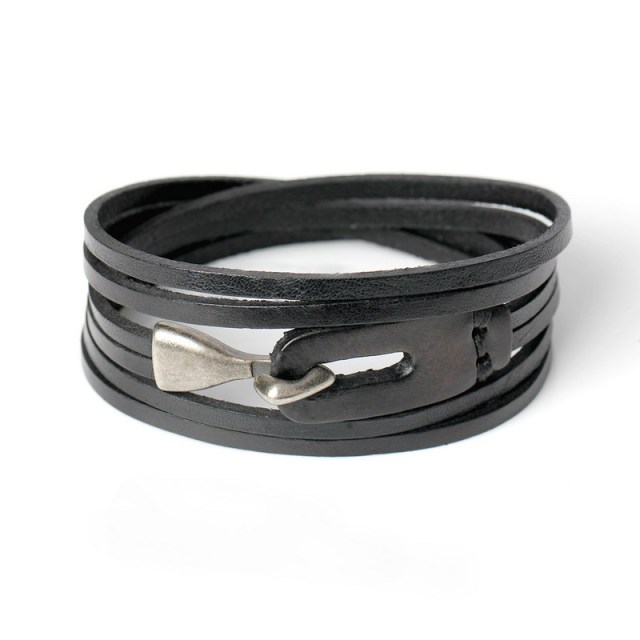 XQNI Genuine Leather Hook...