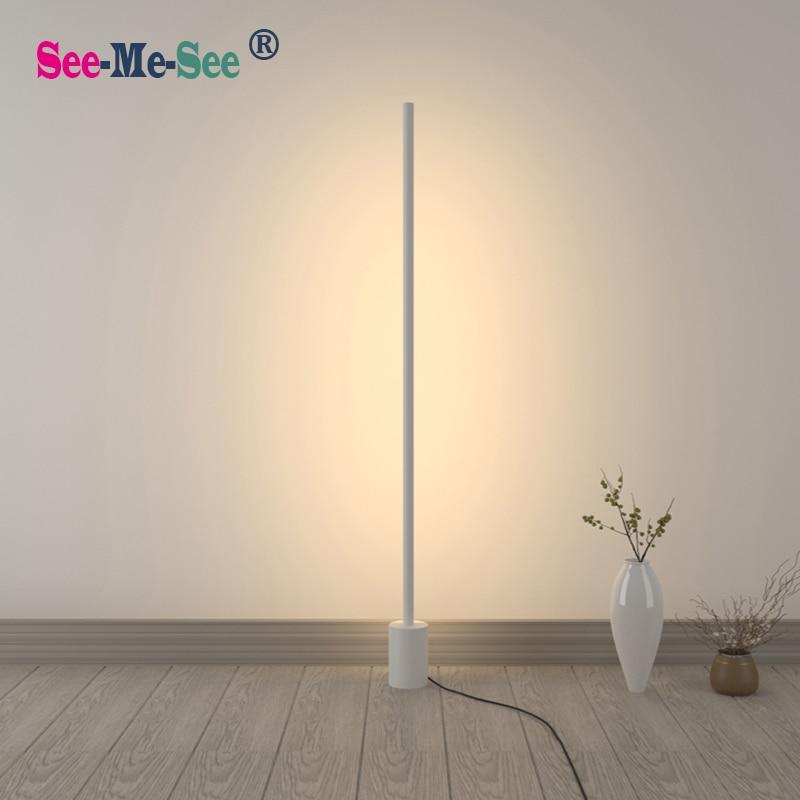 Modern Minimalist Nordic Creative Standing Led Floor Lamp for Living Room