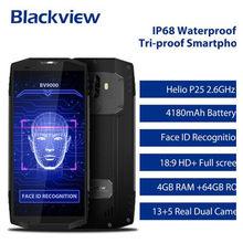 W magazynie! Blackview BV9000 IP68 wodoodporny telefon 4G LTE MTK6757 Octa Core Android 7.1 4GB + 64GB z NFC OTG mobilny telefon komórkowy