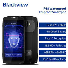 ¡En Stock! Blackview-móvil BV9000, 4G, LTE, MTK6757, 4GB + 64GB, Android 7,1, NFC, OTG, teléfono móvil resistente al agua IP68