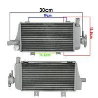 Motorcycle Aluminium Cooling Radiator Left Righ For Honda LD450 CRF450R 2005 2006 2007 2008 CRF450 R