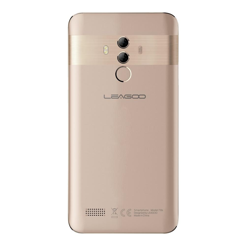 Image 4 - LEAGOO T8s мобильный телефон ОЗУ 4 Гб ПЗУ 32 Гб 5,5 дюймов FHD Android 8,1 MT6750T Восьмиядерный Лицо ID 13MP OTG gps две SIM 4G смартфоны-in Мобильные телефоны from Мобильные телефоны и телекоммуникации