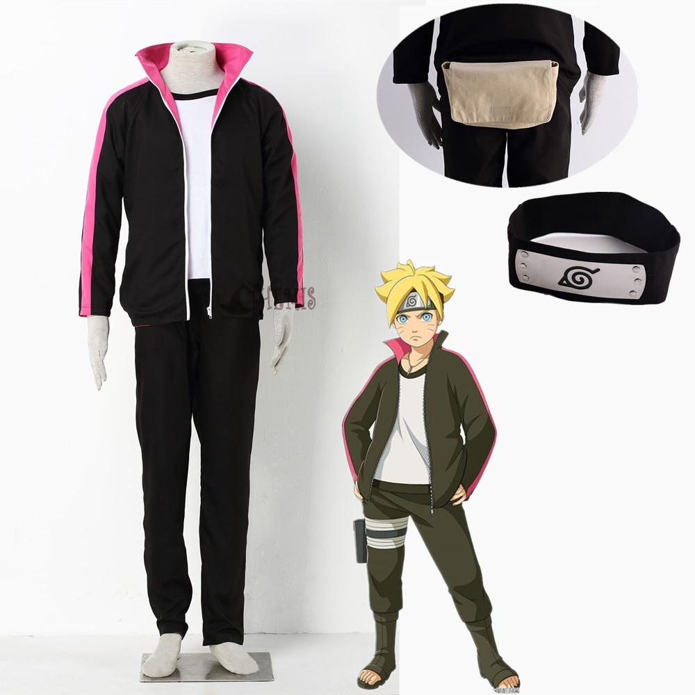 Athemis Boruto Cosplay costume BORUTO -NARUTO THE MOVIE Naruto Uzumaki Boruto anime cosplay clothes custom made