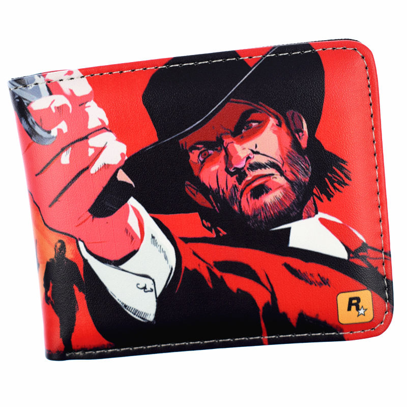Game Red Dead Redemption 2 Wallet Men's Short Purse With Coin Pocket