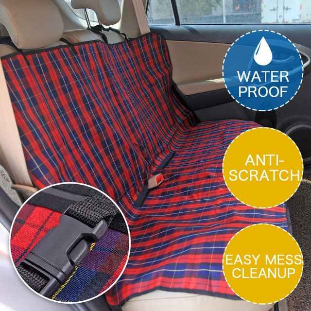 Pet Carriers Car Seat Cover Durable Dog Cats Car Blanket Hammock Oxford Dog  Cushion Protector for 1dc274984