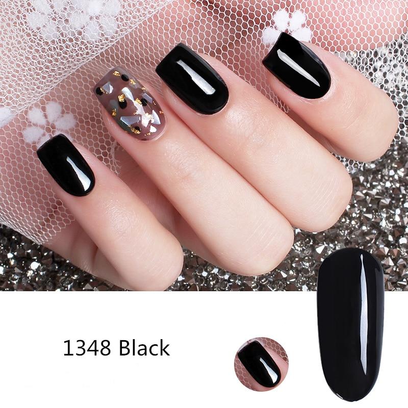Ukiyo 15ML Gel Varnish Black White Red Color Nail Gel Polish Soak Off Nail Art Gel Polish Semi Permanent Nails Lacquer Varnishes 4