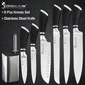 Sowoll 8 piezas cuchillos de acero inoxidable 8