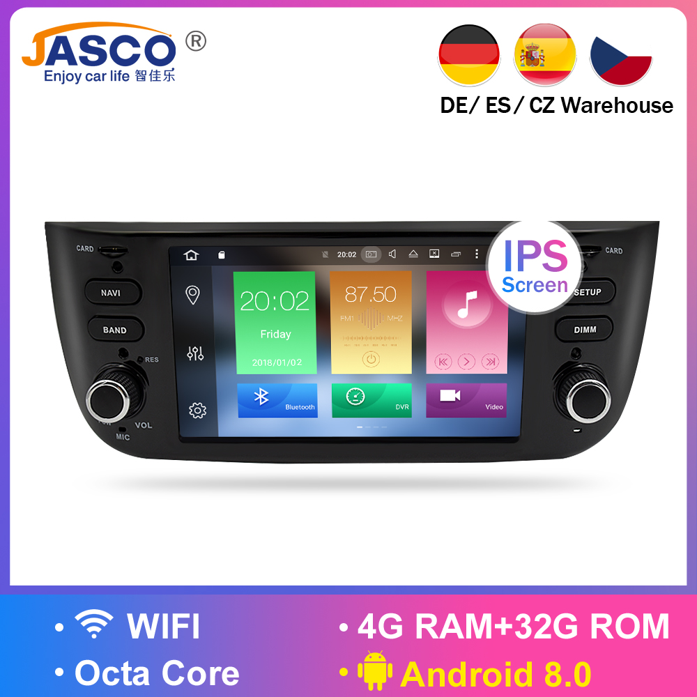 US $282 94 14% OFF|Android 7 1 Car Stereo DVD Player GPS Glonass Multimedia  for Fiat Grande Punto Linea 2012 2013 2014 2015 Audio RDS Radio Stereo-in