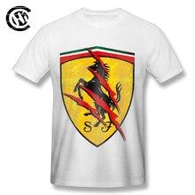 Men's Ferrari Logo T-Shirt (4 Colors)