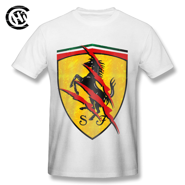 Men's Ferrari Logo T-Shirt (4 Colors)