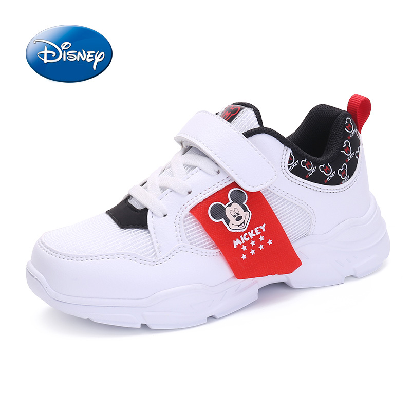 Disney Shoes Children Shoes Boys Girls Sneakers 2019 Spring Autumn Breathable Leather Boys Girls Sport Casual Shoes Size 31-37Disney Shoes Children Shoes Boys Girls Sneakers 2019 Spring Autumn Breathable Leather Boys Girls Sport Casual Shoes Size 31-37