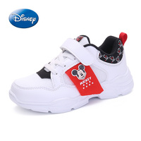 Disney Shoes Children Shoes Boys Girls Sneakers 2019 Spring Autumn Breathable Leather Boys Girls Sport Casual Shoes Size 31 37