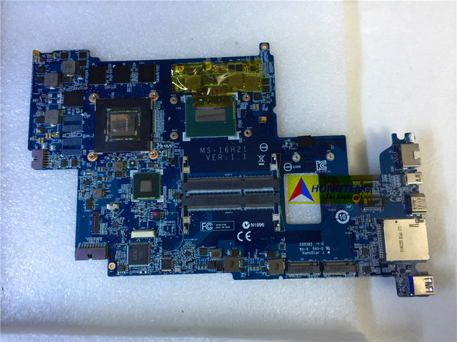 ของแท้MS 16H21สำหรับMSI GS60 2PCแล็ปท็อปเมนบอร์ดI7 4710HQ CPUและGTX860M Test OK