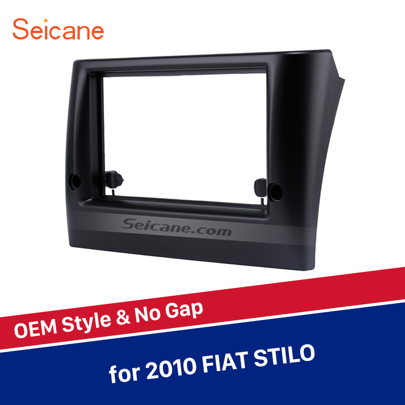 Seicane 2DIN 178*102mm Car Stereo Radio Fascia Panel DVD Install Frame Surrounded Trim Refit Kit Bezel For 2010 FIAT STILOSeicane 2DIN 178*102mm Car Stereo Radio Fascia Panel DVD Install Frame Surrounded Trim Refit Kit Bezel For 2010 FIAT STILO