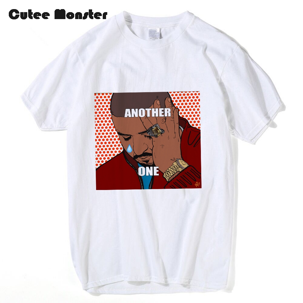 DJ khaled Another one T shirt Men Hip Hop Weep Printed Top Tees Cotton Short Sleeve Fans Funny T-Shirts Plus Size 3XL