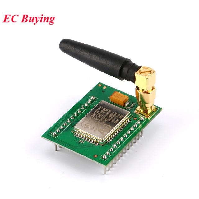 US $2 99 5% OFF|GSM Module GPRS Module A6 System Board Development Board  GSM GPRS Wireless Data Transmission SMS Speech Board PCB -in Integrated