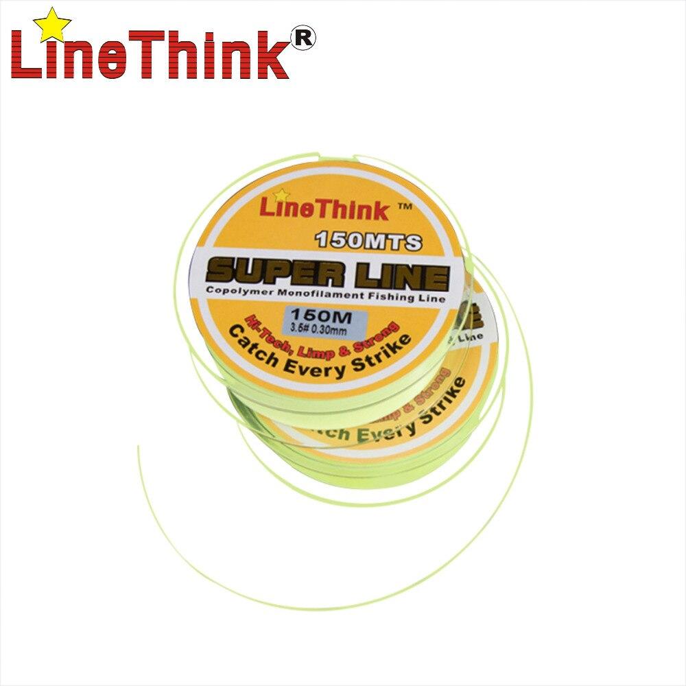 150 M LineThink Super Suave Sin Memoria ISO línea de Pesca Pesca de La Carpa de
