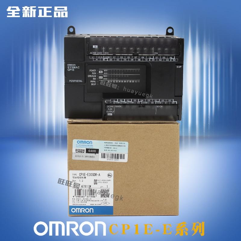 CP1E E20SDR A CP1E E30SDR A CP1E E40SDR A CP1E E60SDR A OMRON PLC Controller Module