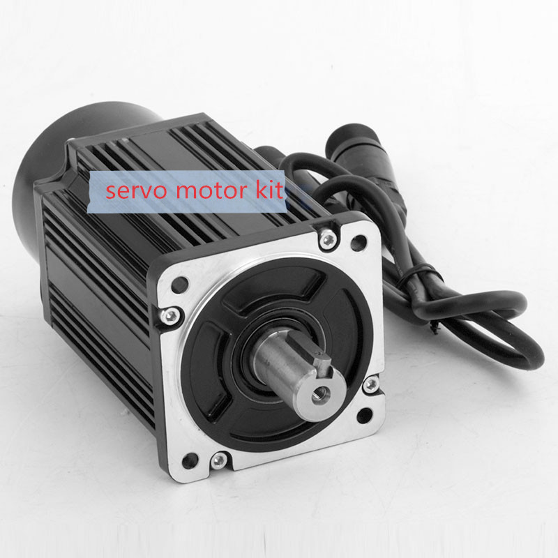 400W Servo motor set 60ST-M01330 ac servo  motor permanent magnet synchronous motor just servo motor dcs810 leadshine digital dc brush servo drive servo amplifier servo motor controller up to 80vdc 20a new original