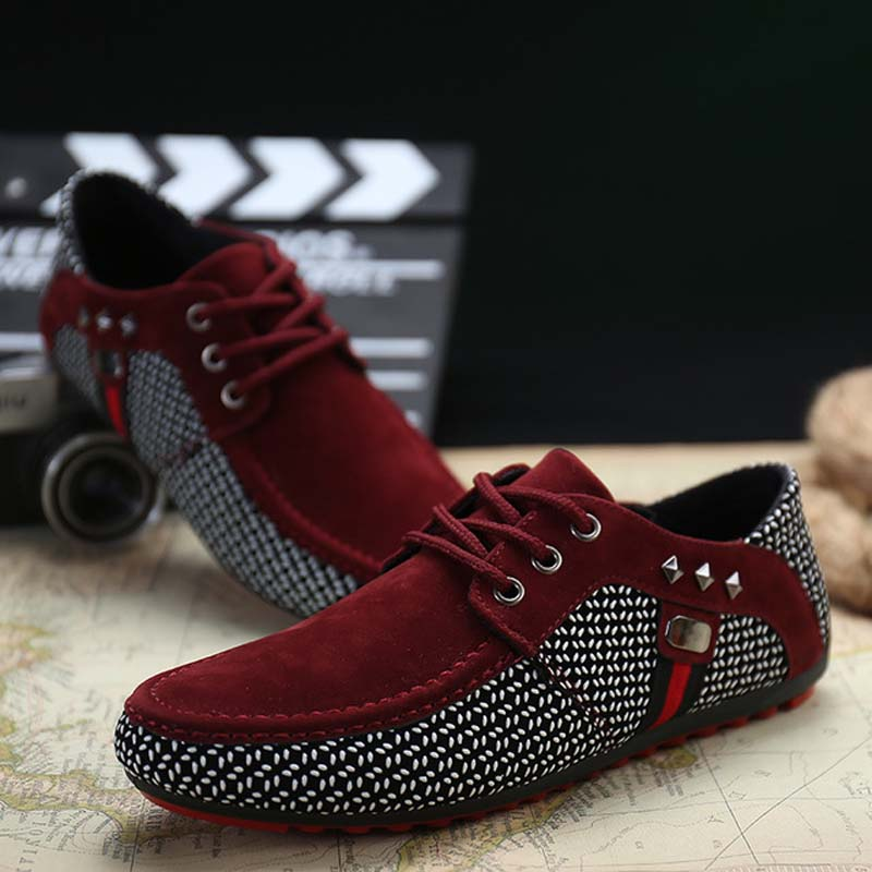 Spring Men Shoes Breathable Lace Up Casual Shoes Men Light Soft Comfortable Fashion Male Big Size 39-46 Walking Mans Footwear