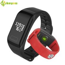 Спортивные SmartBand Amazfit пульсометр умный Браслет-трекер активности F1 Smart Браслет фитнес-часы браслет с Шагомером