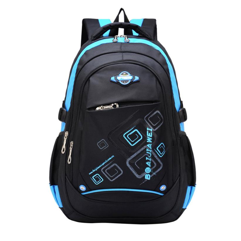 Children School Backpack Bags For Children Backpacks Primary School Backpack Travel Canvas Waterproof Embossing Backpacks -10