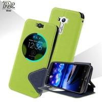 ROAR KOREA Diary View Leather Case For Asus Zenfone Selfie ZD551KL White