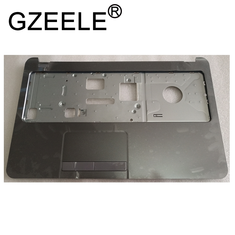 GZEELE New For <font><b>HP</b></font> <font><b>250</b></font> 255 256 <font><b>G3</b></font> 15-G 15-H 15-R 15-T 15-Z 15-G001XX 15-R030WM Palmrest Upper <font><b>Top</b></font> <font><b>Cover</b></font> <font><b>Case</b></font> keyboard bezel image