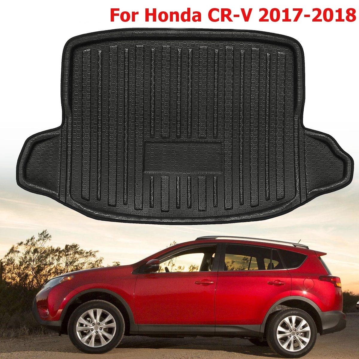 Новый черный задний багажник Коврики для багажника коврик багажника сзади лайнер пол лоток ковер грязи Kick протектор для Toyota Rav4 2013 2014 ~ 2018 ...