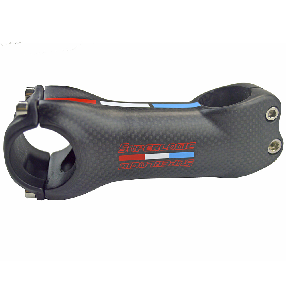 superlight carbon stem in bike stem 3k matte finish 28.6mm 1-1/8 6/17degree mtb road bikes parts 70-130mm bicycle parts