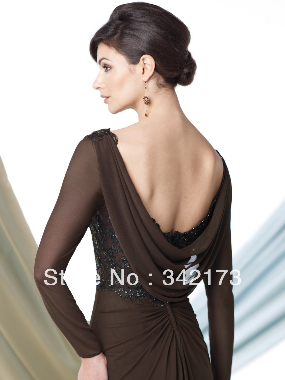 Colorful Chocolate Brown Evening Gowns Component - Wedding and ...