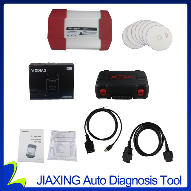 US $285 0 |VXDIAG VXC Plus MULTI Diagnostic Tool 4 in 1 For HONDA / FORD /  MAZDA / JLR Auto Diagnostic Key Programming Tools-in Car Diagnostic Cables