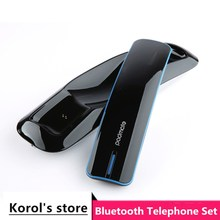 Newest anti-radiation Retro phone handset Innovation One To Two Bluetooth Wireless earphone fully support bluetooth cell phone