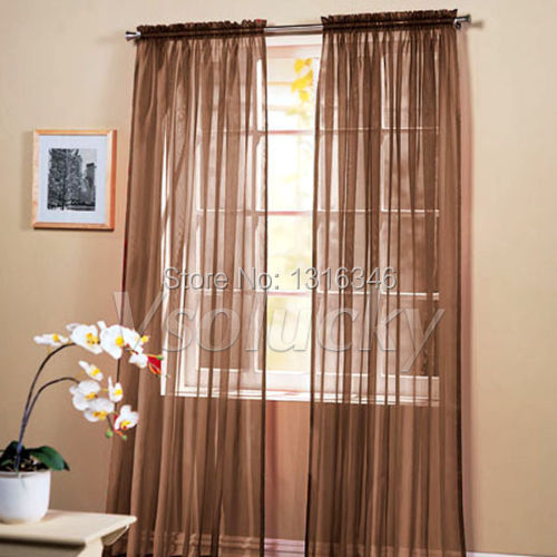 Curtains Ideas cheap brown curtains : Popular Brown Curtain Panels-Buy Cheap Brown Curtain Panels lots ...