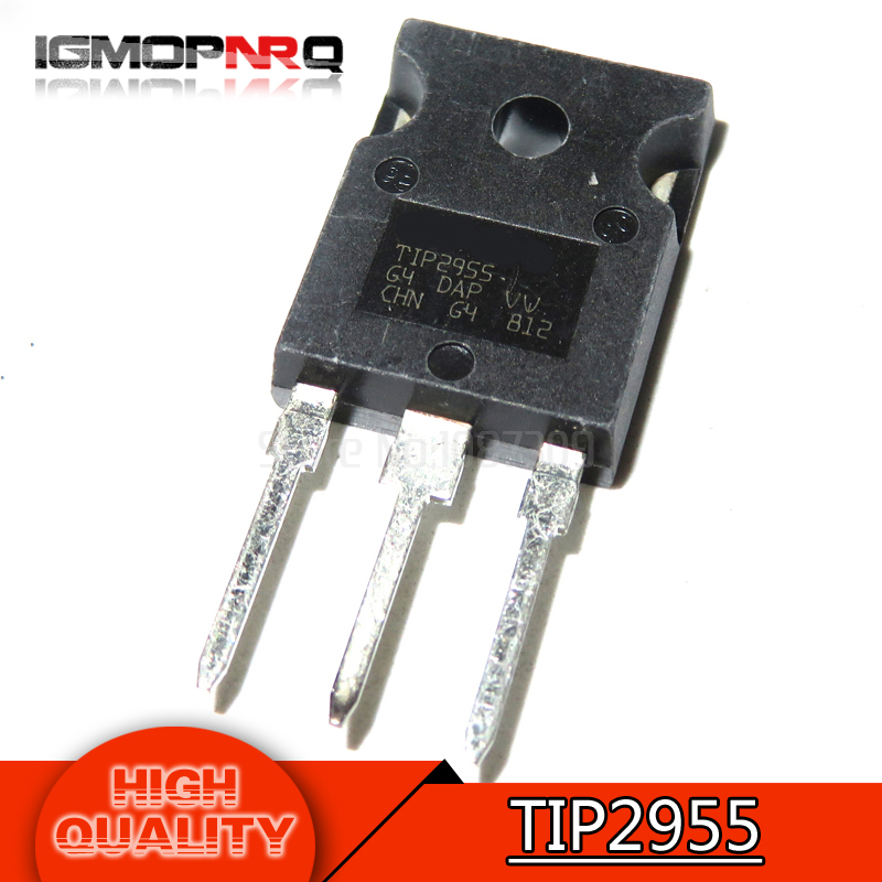 5pcs//10pcs TIP3055 TO-247 Transistor ST Original