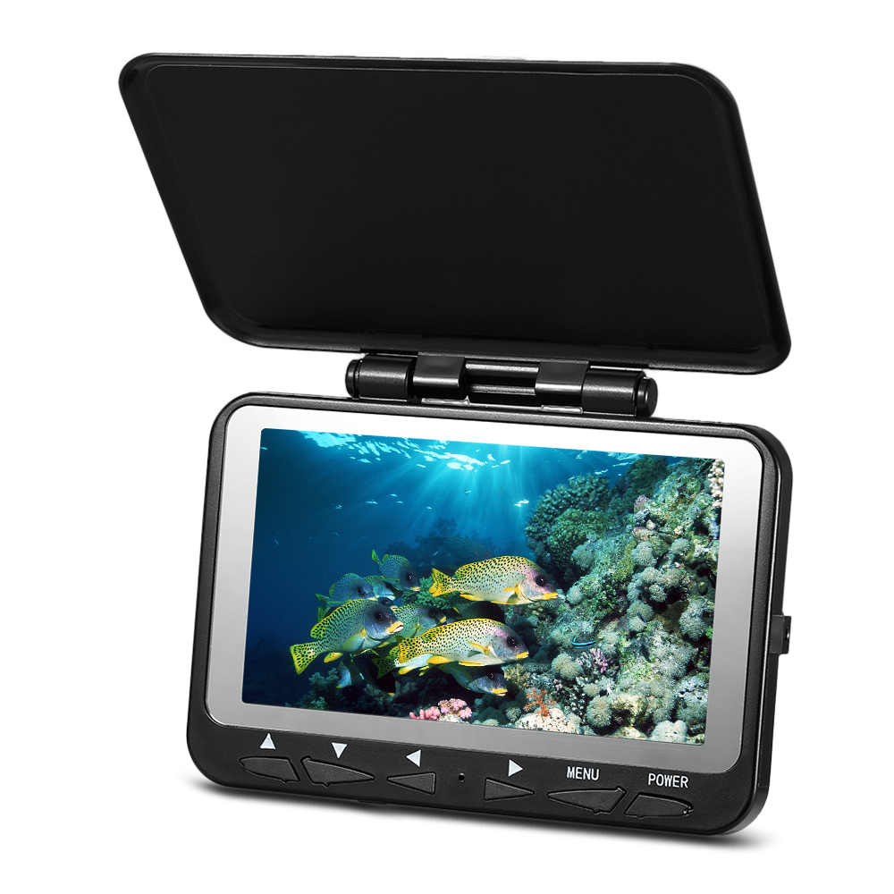 "Lixada 15M / 30M 1000TVL Fish Finder Underwater Ice Fishing Camera 4.3"" LCD Monitor 8 Infrared IR LED Night Vision Camera"