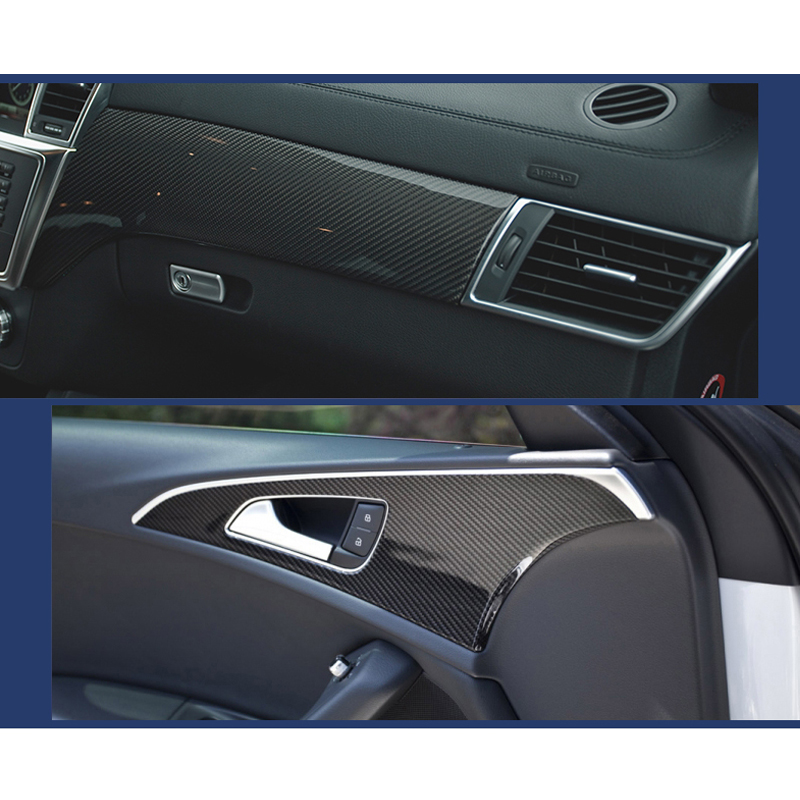 Image 3 - 30*100CM Car Stickers 5D Carbon Fiber Film Inner Decor Anti Scratch Car Cover Car Accessories For Volkswagen Audi
