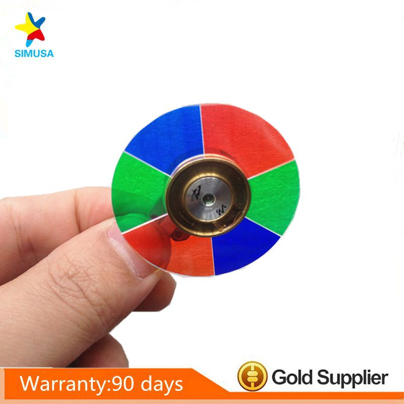 Projector color wheel for BEN Q W1070 W1080ST+ W1075 W1070-V W1085 VH570 VH580ST W20AA projector color wheel for ben q w600 free shipping