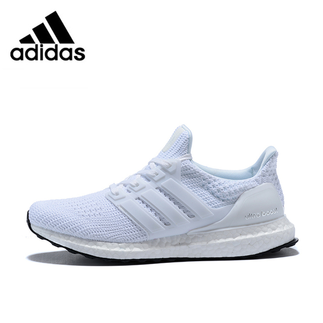 low priced e35f8 3207b US $92.74 30% OFF|Adidas Ultra Boost 4.0 UB 4.0 Popcorn Running Shoes  Sneakers Sports for Men white BB6168 40 44 EUR Size M-in Running Shoes from  ...