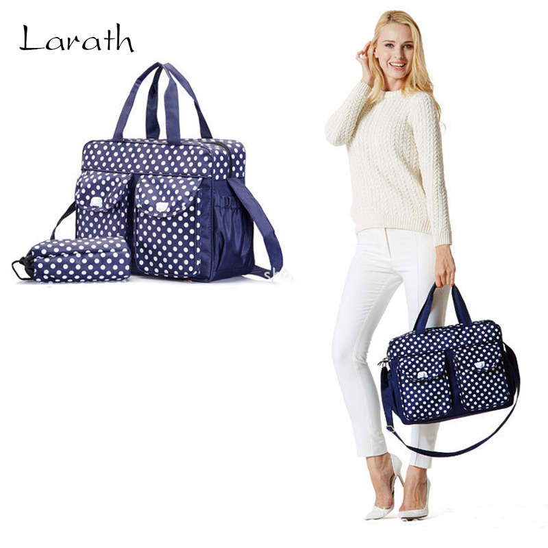 ФОТО LARATH Within 2 Gifts Designer Baby Bags for Mom Baby Stroller Organizer Bag Carriage Pram Accessories