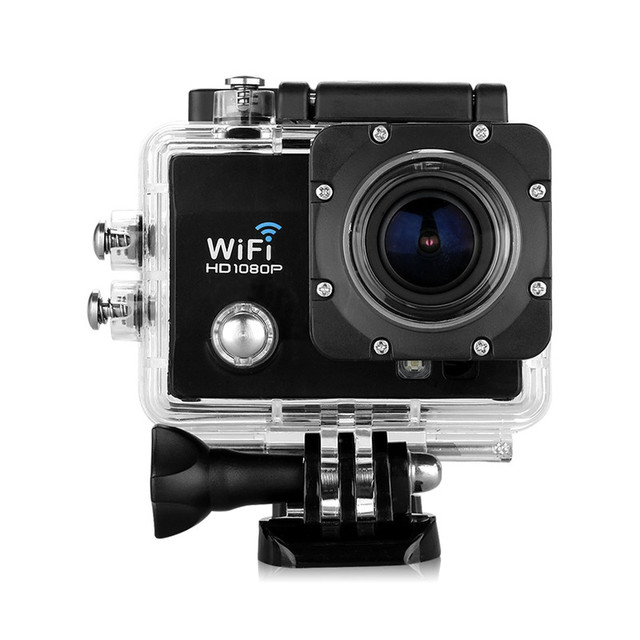 Action Camera Q5 2.0 inch 12MP 170 HD Lens WIFI Suport 32GB Max HD DV Night Vision Sport Camera