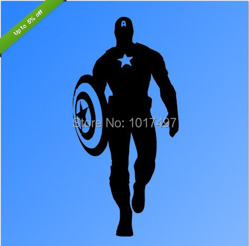 Captain America Wall Art aliexpress : buy free shipping cool captain america wall art