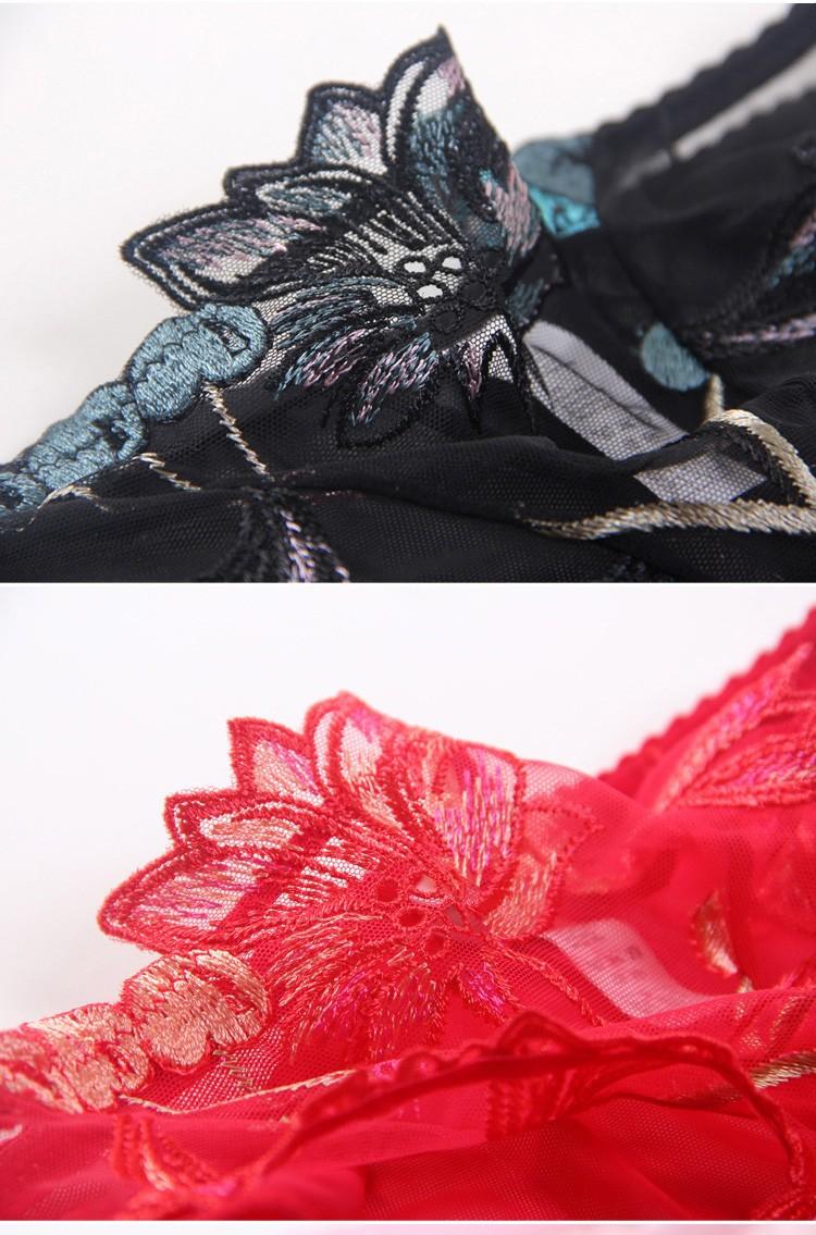 Free shipping Ultrathin embroidery lace bra bra brief sets women bra set sexy bra set women underwear set 26