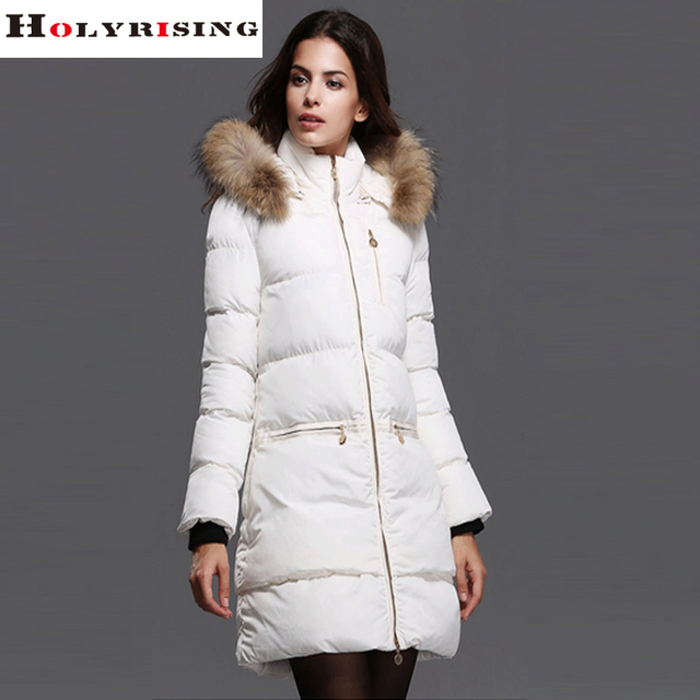 Aliexpress.com : Buy Chic Autumn Winter Women White Down Jackets ...