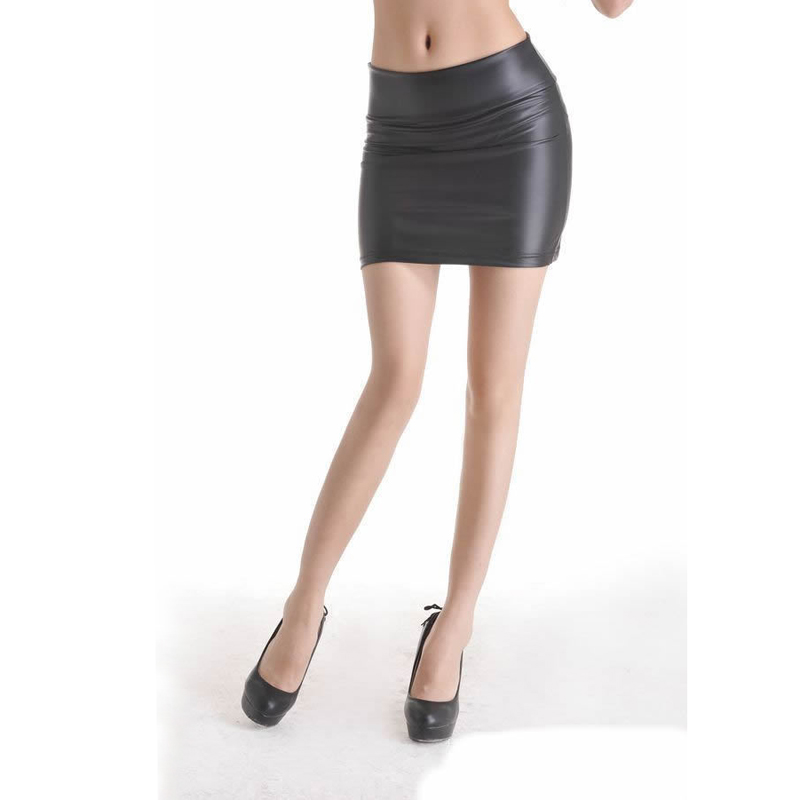 Матовая юбка