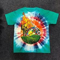 19SS Travis Scott Astroworld T Shirt 1:1 High Quality SMILEY Tie Dye Tee street market T shirt Hip Hop ASTROWORLD Tshirt Top Tee