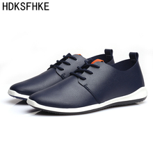 2017 New Shoes Men Casual Male Black Summer Driving Flats Fashion Shoes Brand Mens Leather Shoes Sales footwear for men
